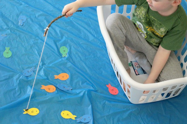 Fish or ocean theme alphabet activity.