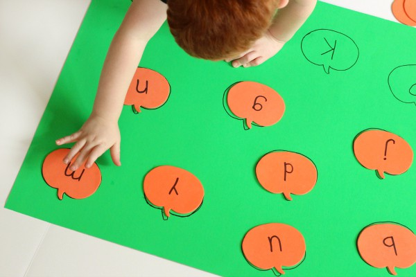 Pumpkin learning activity for preschool and pre-k.
