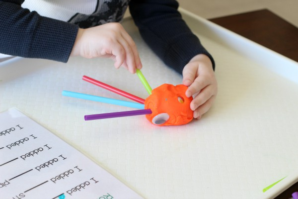 Make a monster math activity.