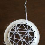 Weaving a Spider Web Alphabet Activity
