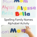Family Names Alphabet Activity