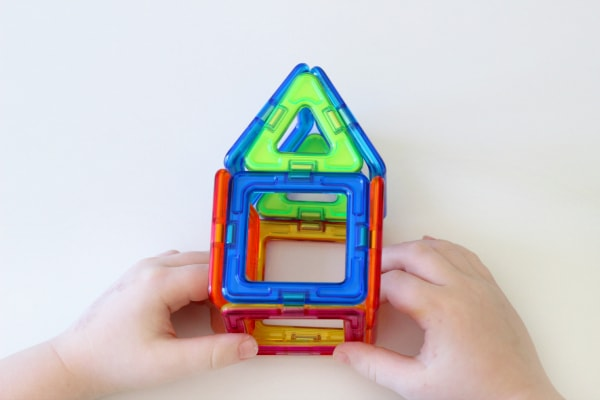Educational toys for preschoolers. Magformers are awesome!