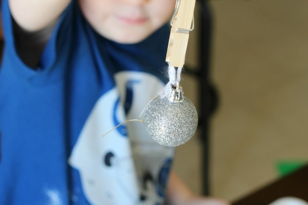 Christmas tree activity that develops fine motor skills and critical thinking skills.