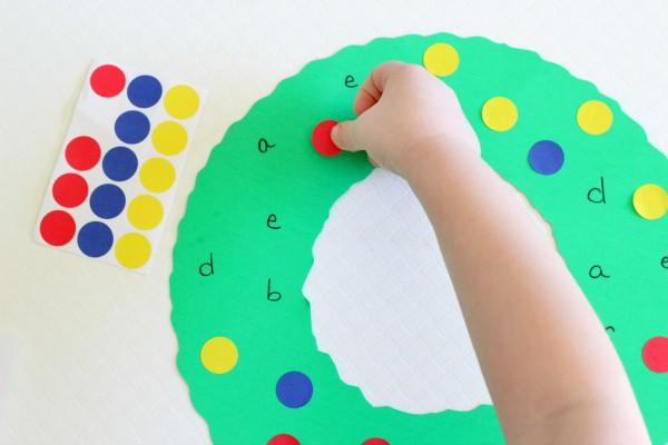 Preschool Christmas craft.