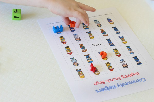 Bingo alphabet activity