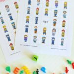 Community Helpers Bingo Alphabet Activity