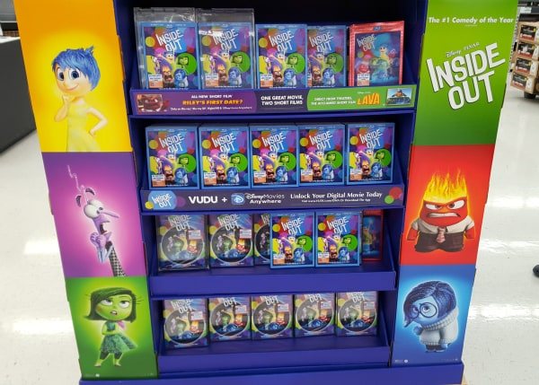 Inside Out in Walmart stores!