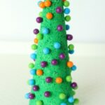 Push Pin Christmas Tree Craft and Fine Motor Activity