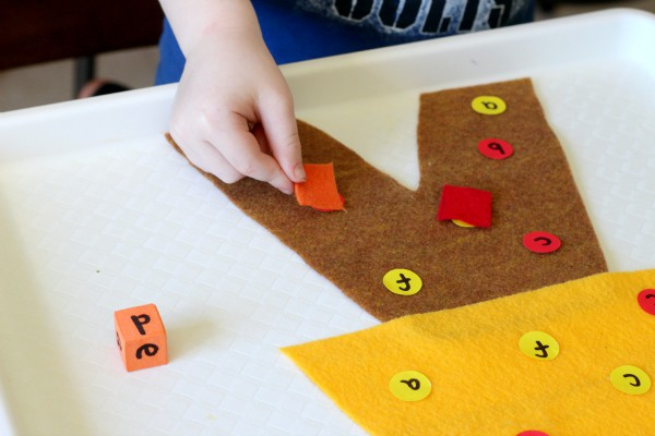 Fall alphabet activity