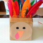 Turkey Feathers Fine Motor Activity that's Super Fun