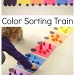 Train Color Sorting Activity