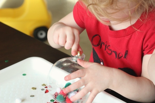 Toddler Christmas ornaments