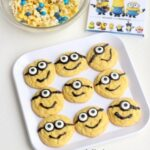 Minions Cake Mix Cookies