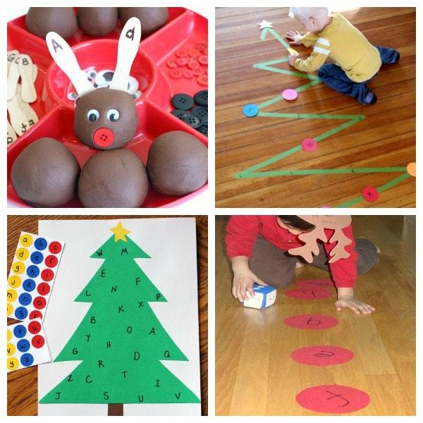 Christmas learning activities for preschoolers!