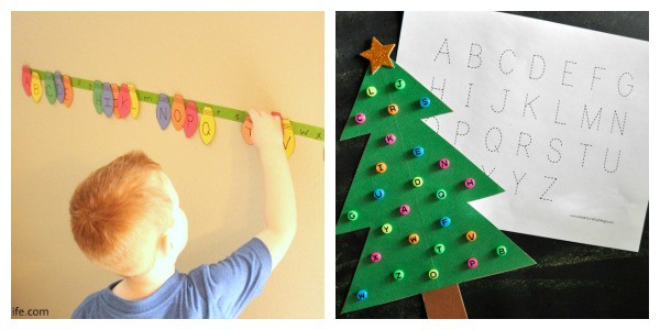 Christmas letter learning activities!