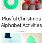 Playful Christmas Alphabet Activities