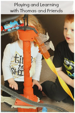 STEM investigation with Thomas and Friends TrackMaster. A fun and exciting way to play and learn!