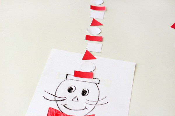 Go along activities for The Cat in the Hat.