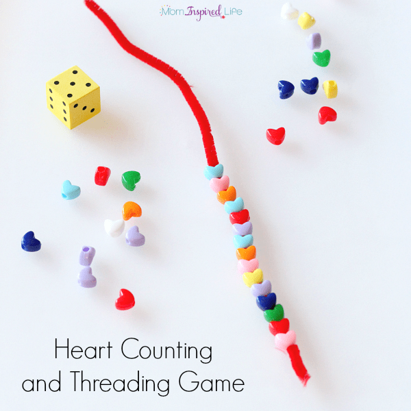 Heart counting and fine motor activity for preschoolers.