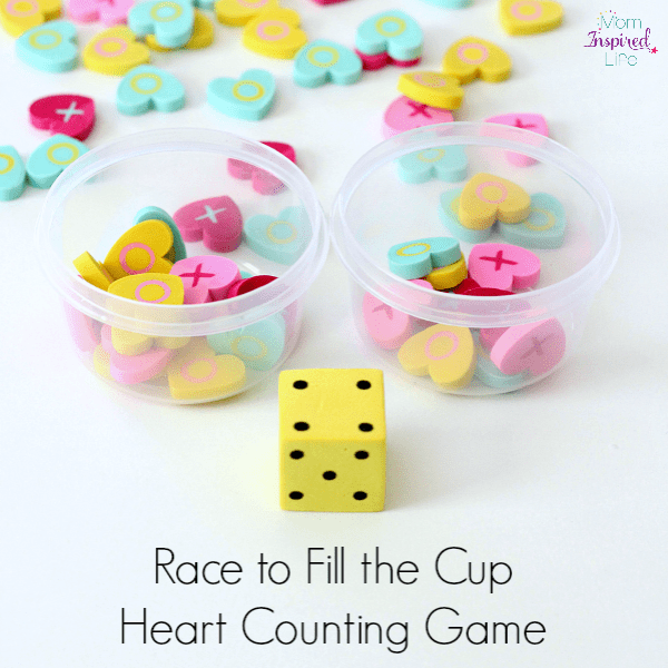Counting activity for Valentine's Day!