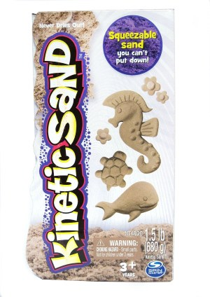 Favorite kinetic sand.