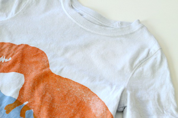 Removing set in stains from clothes.
