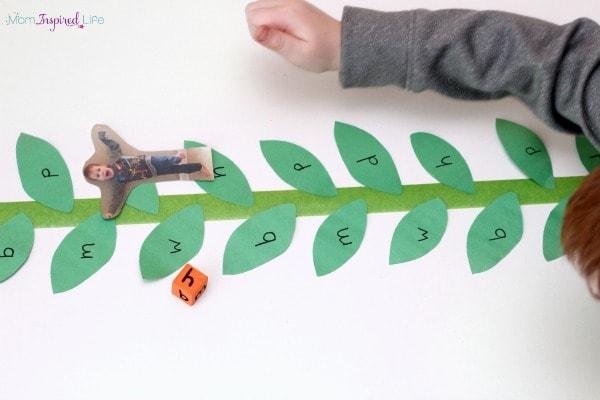 Fairy tale alphabet game.