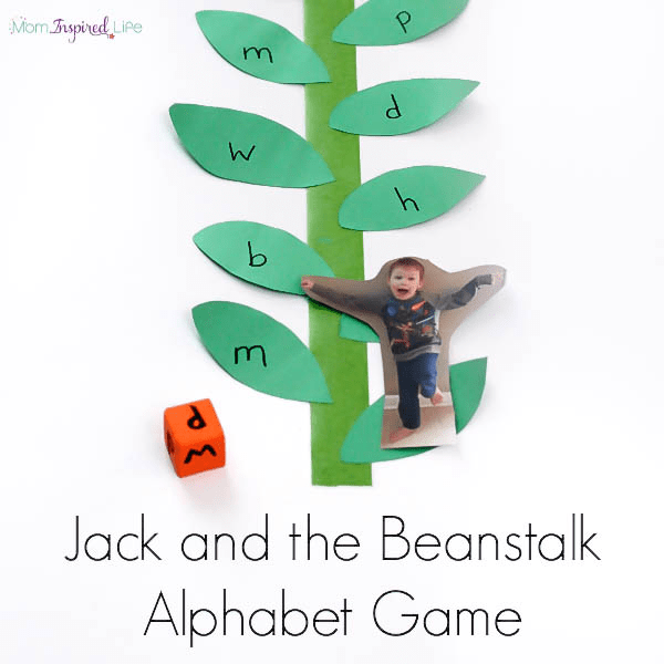 This fairy tale alphabet activity is the perfect extension for Jack and the Beanstalk!