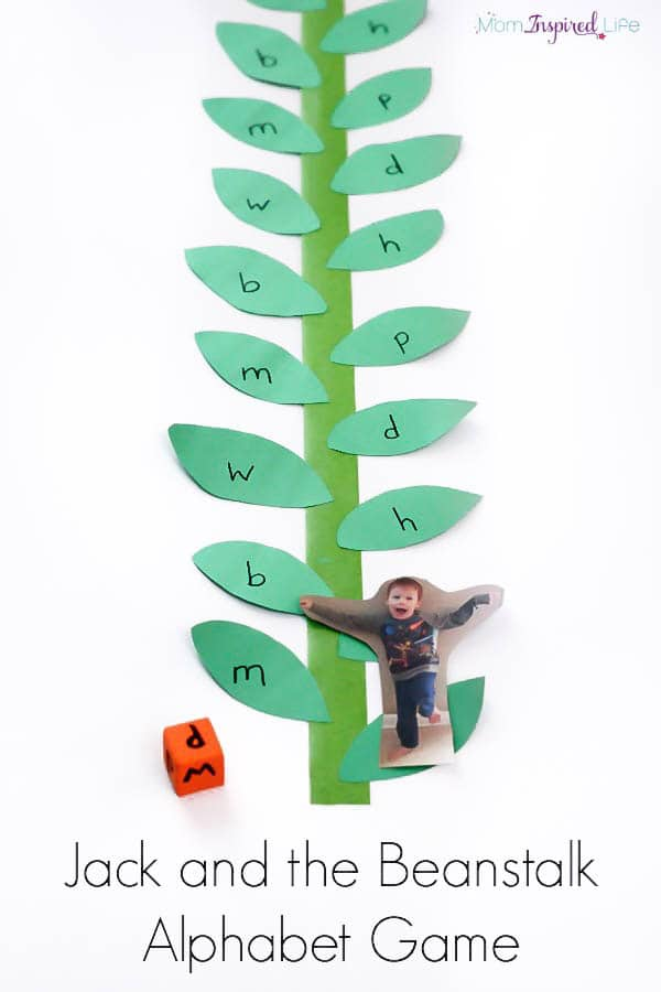 This Jack and the Beanstalk alphabet game is a super fun, fairy tale ...