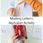 Mailing Letters Alphabet Activity