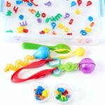 Alphabet Water Sensory Game