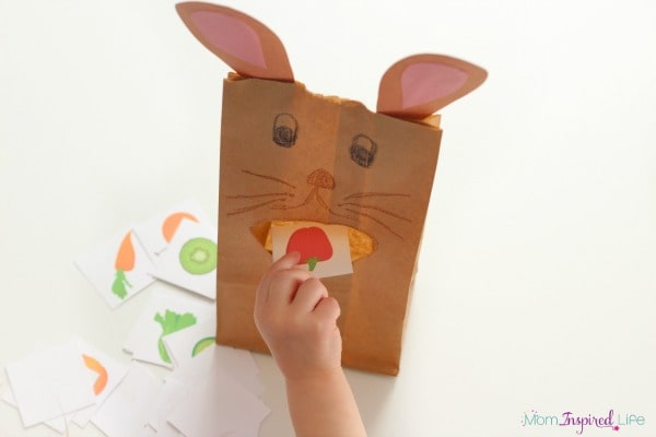 Rabbit activity that is perfect for Easter!