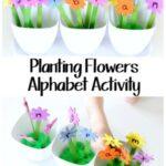 Planting Flowers Alphabet Activity