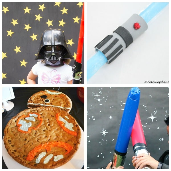 Star Wars: The Force Awakens birthday party ideas