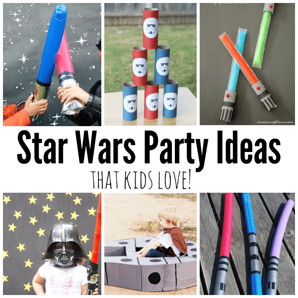 The best Stars Wars: The Force Awakens party ideas! Simple and doable Star Wars party ideas.