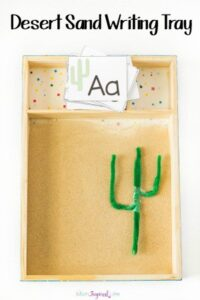 Desert Sand Writing Tray
