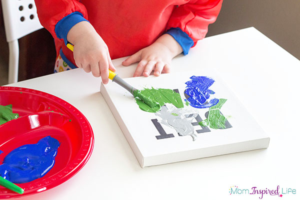 Father's Day craft painting activity that kids of all ages can make!