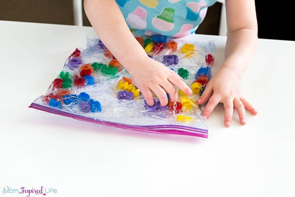 Preschoolers will love this fun way to learn letters! It's a great way to begin teaching letter recognition to young children.