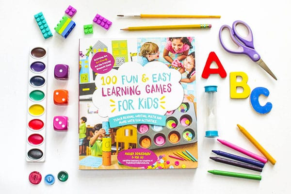 100 Fun and Easy Learning Games for Kids is an awesome collection of learning games that your kids will love!