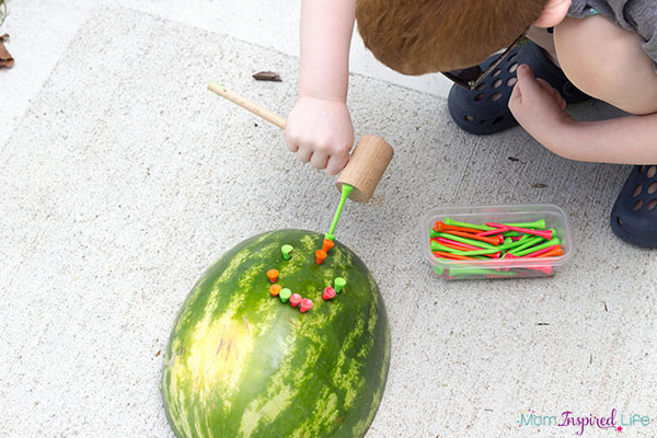 This fun summer activity for kids is sure to be a hit!