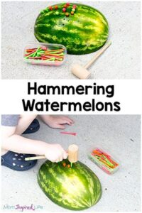 Hammering Tees into Watermelons