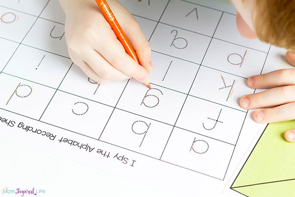 I Spy Alphabet Search and Find Printables