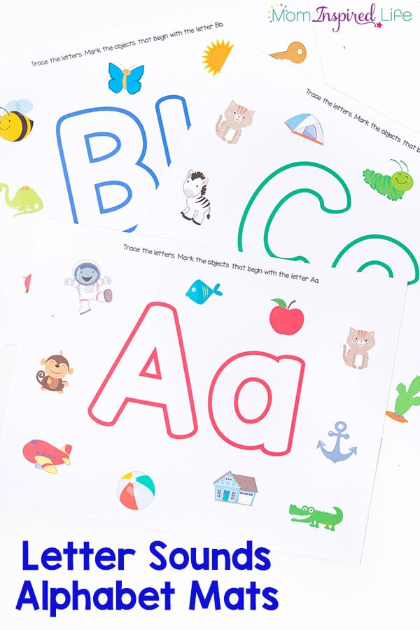 teaching letter sounds to preschoolers 26 awesome letter sounds alphabet mats 845