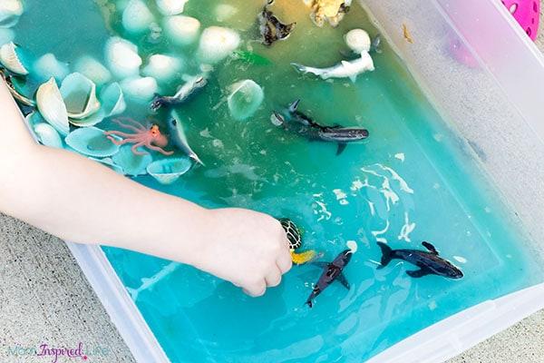 Ocean play activity that kids love!