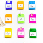 Sight Word Pockets Activity