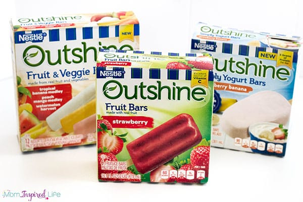 Outshine fruit bars are a great summer treat for kids.