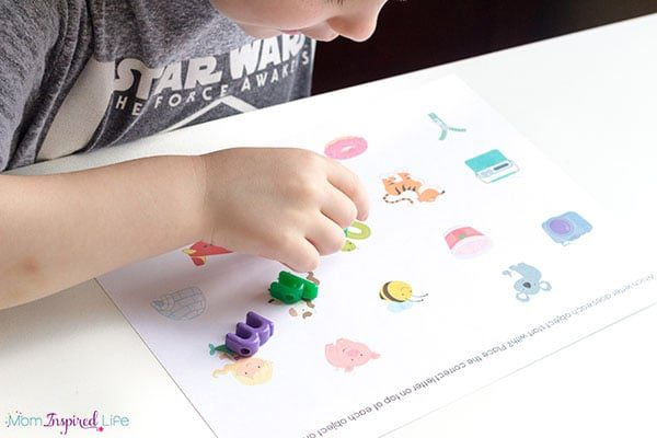 Teaching kids to identify beginning sounds in words and moving beyond learning letter sounds.