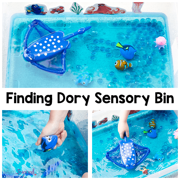 This Finding Dory activity is a great way to cool down this summer or an awesome party activity!