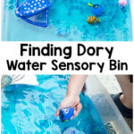 Super Cool Finding Dory Ocean Sensory Bin Activity