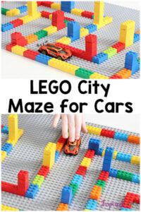 LEGO Maze City for Cars